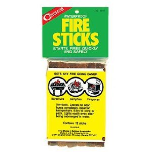 Fire Starting Aid - Purchase Fire Sticks (bag of 12)