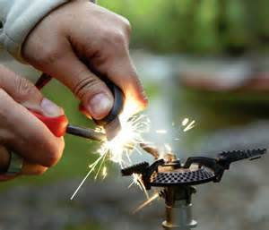 FireSteel 'Scout' Fire Starter - Light a fire anywhere