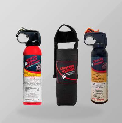 Bear Deterrent Spray with Holster