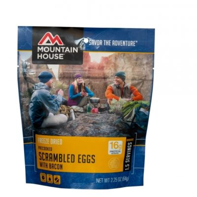 Backpacking Food - Mountain House Egg and Bacon Breakfast