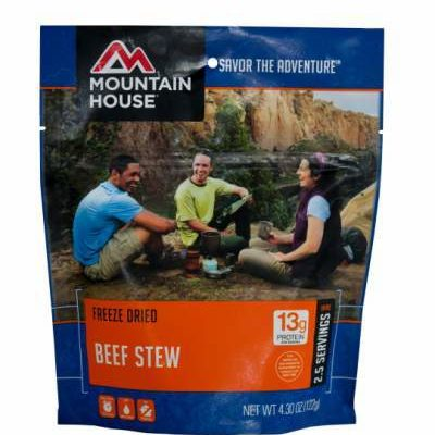 Backpacking Food - Mountain House Beef Stew for 2