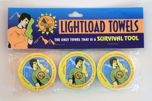 Lightload Towels, 3 12X24 inch towels per pack