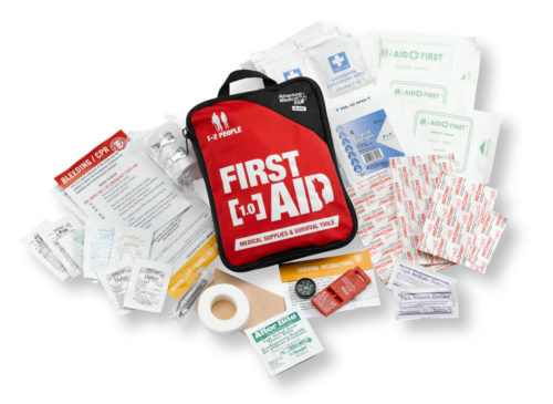 Fist Aid Kit - Rent or Buy Adventure Kit 1.0 for 1-2 People