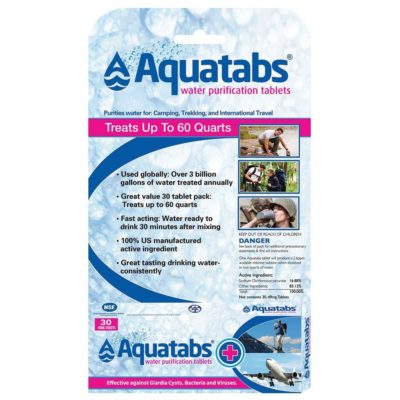 Water Purification - Water Purification Tablets