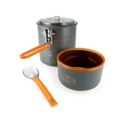 Cooking Gear Rental -  Ultralight Backpacking Cookset for One