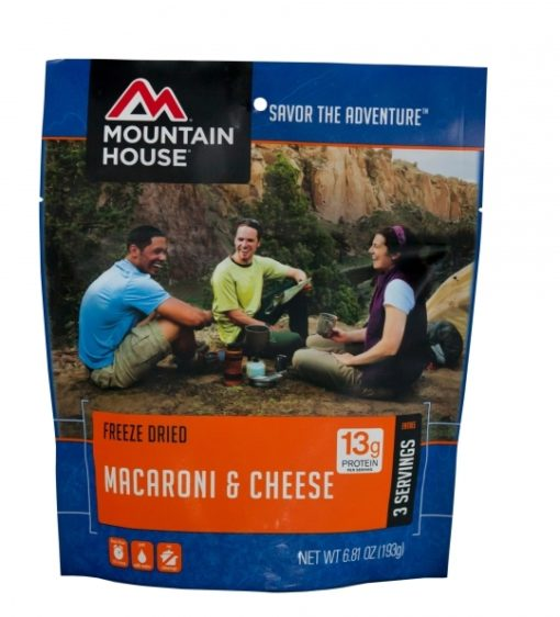 Backpacking Food - Mountain House Macaroni and Cheese for 2