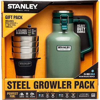 Stanley 64oz Beer Growler and Tumbler Set