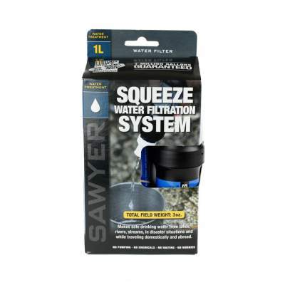 Water Filtration System - Purchase Point One Squeeze by Sawyer