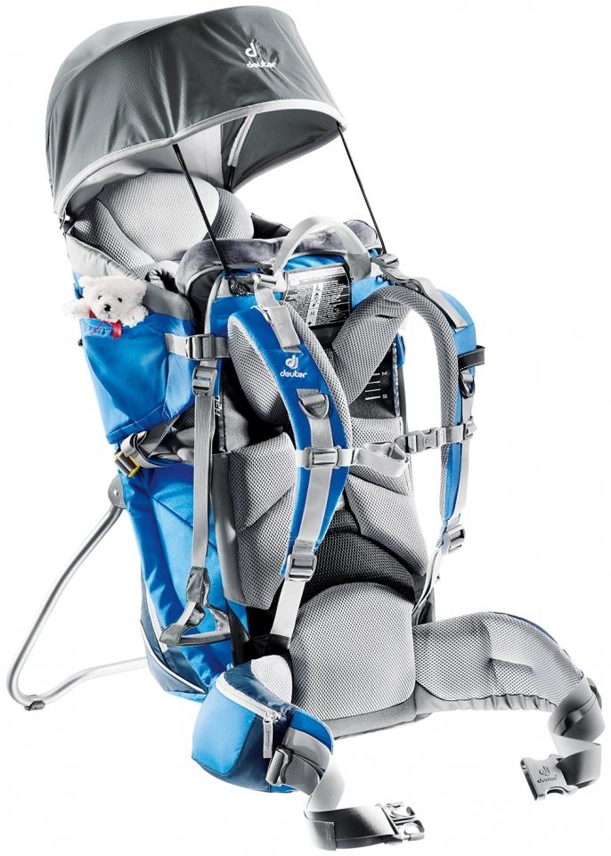 berühmte Designermarke offizielle Seite begehrte Auswahl an Child Carrier Backpack Rental - Deuter Kid Comfort II