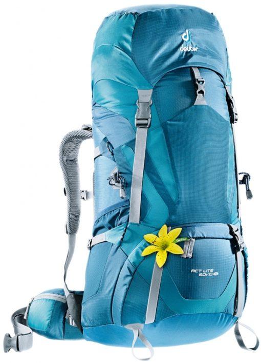 Hiking Backpack Rental- Deuter ACT Lite 60+ 10 SL Female Specific