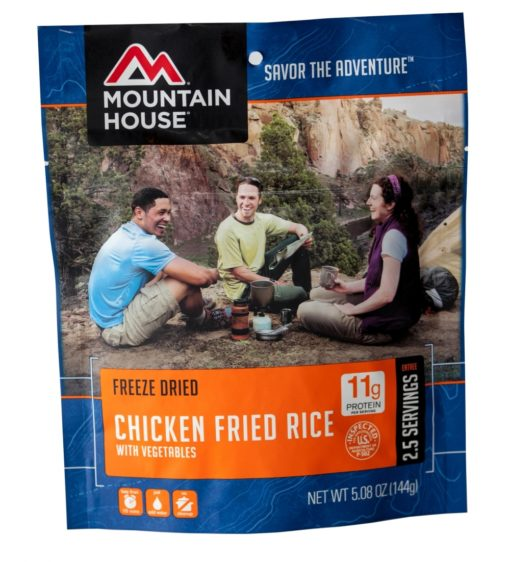 Backpacking Food - Mountain House Chicken Fried Rice for 2
