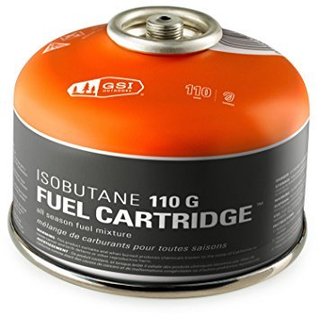 110 G IsoButane Fuel Cartridge for Backpacking Stoves