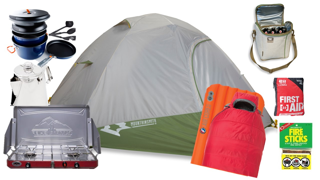 official photos d3122 fac12 Camping Kit Rental - Complete Kit for 2 People