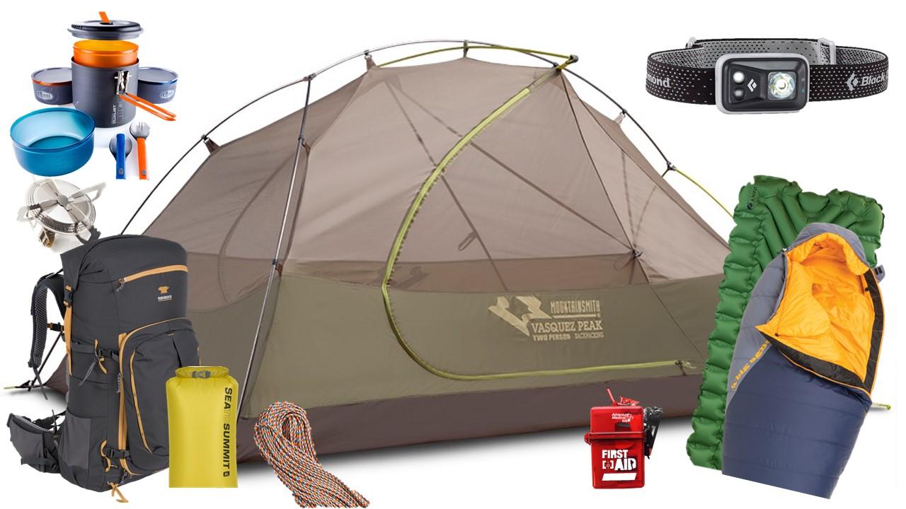 Backpacking Kit Rental Denver