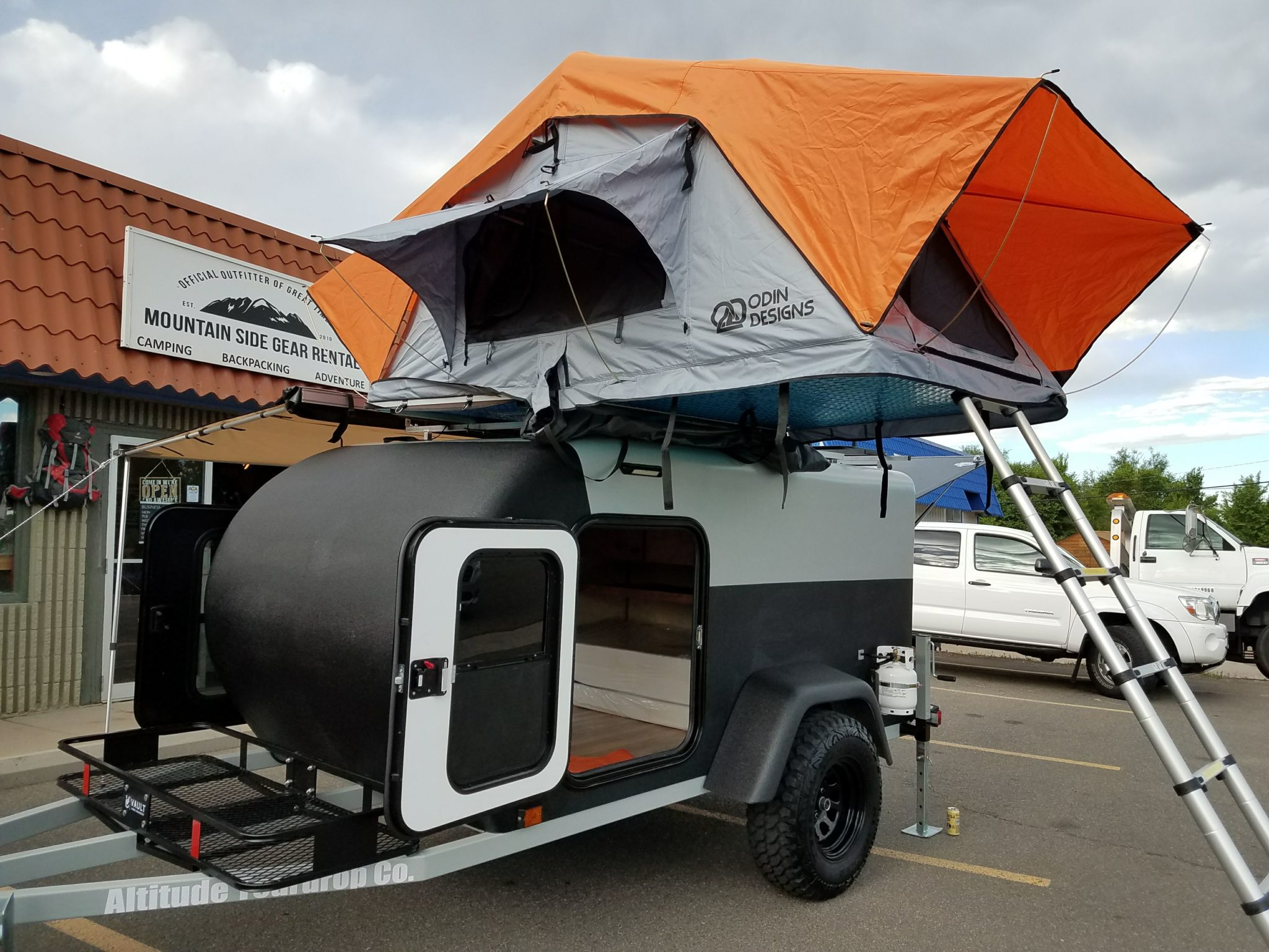 camping trailer tent hire